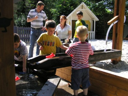 Vattenlek från Woodwork AB