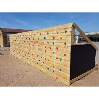 Klätterbänk framtagen i samarbete med Odla Lärandet och Woodwork AB