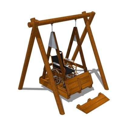 Woodwork AB-Rullstolsgunga