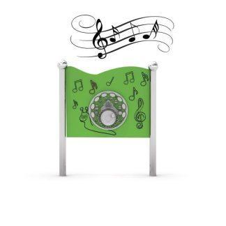 Musikpanel för lekplatsen