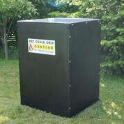 Koltunna för grillplats-grillar&tillbehör
