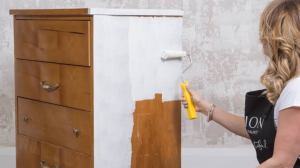 Using Mineral for wood Paint