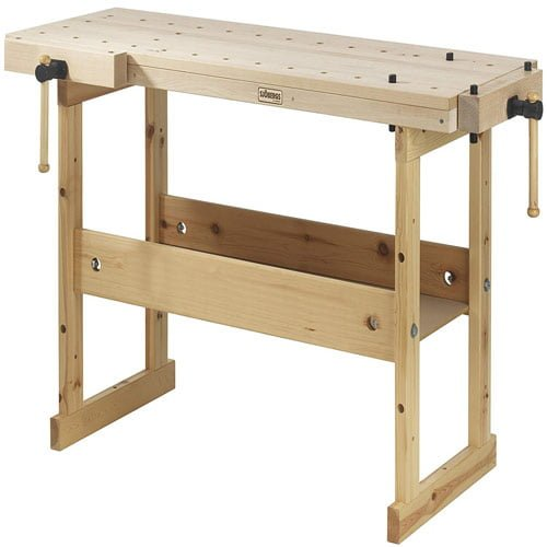 Sjobergs-Hobby-SJO-33281-Hobby-Plus-1340-Birch-Workbench, a Vice That Fits Any Budget