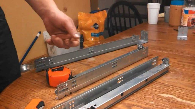 How to Install Soft Close Drawer Slides