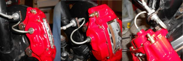 toyota disk brake conversion -  S-Line Installed