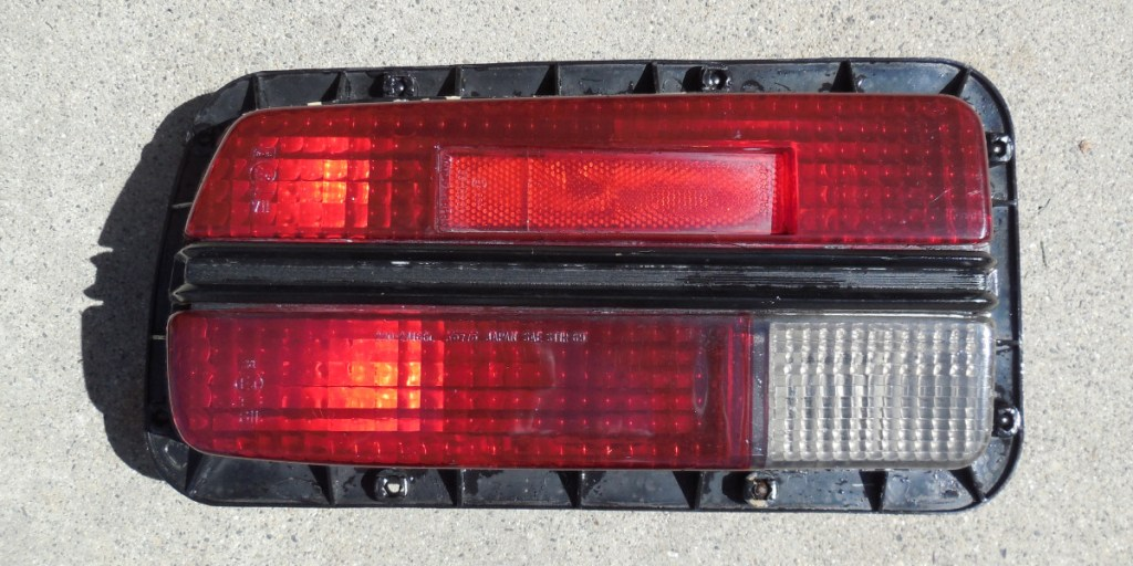 Rear Brake Light Assembly,, Datsun 240Z seat refurbish, WoodWorkerB