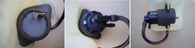 Datsun 240Z Washer Pump Closeup