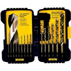 IRWIN Drill Bit Set, Cobalt, 15-Piece (316015)