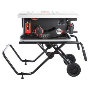 SawStop JSS Mca Legacy Jobsite Saw with Mobile Cart