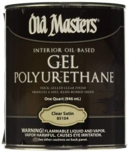 OLD MASTERS CLEAR SATIN Finish 1 Quart