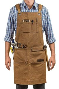 Gidabrand Luxury Waxed Canvas Shop Apron