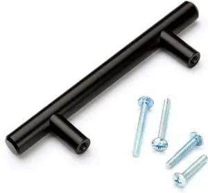 Brahmco 5inch Matte Black Cabinet Pulls (30-Pack)