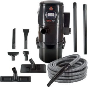 BISSELL 18P03 Garage Pro Wall-Mounted Wet Dry Car Vacuum