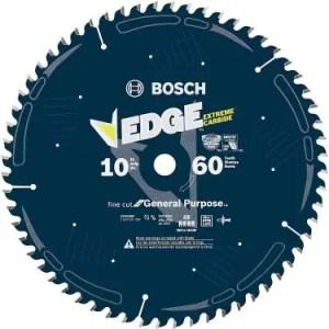Bosch DCB1060 Daredevil 10-Inch 60-Tooth Fine Finish Circular Saw Blade