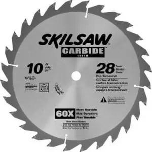 SKIL 75128 Carbide-Tipped 28-Tooth Circular Saw Blade