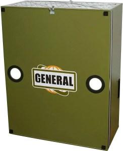 General International 1-5 HP 1089 CFM Smart Air Purifier