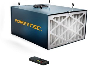 POWERTEC AF4000 Remote Controlled 3-Speed Air Filtration System