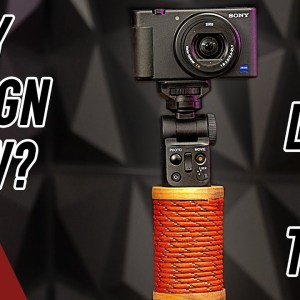 Fixing Sony's ZV-1 Camera's Design Flaws with the Laser Cutter and CNC.