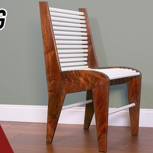 Woodworking Project. Perfecting the Dining Chair Design.