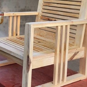 Exclusive Furniture Ideas For Your Living Room Design // Build A Wooden Single Sofa Chair
