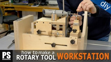 Drill Press, Lathe and Router Table in one Tool / Part 2