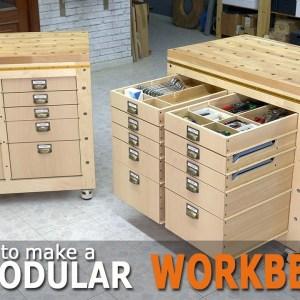 Modular Workbench & Mobile Tool Stand (Ep.3)
