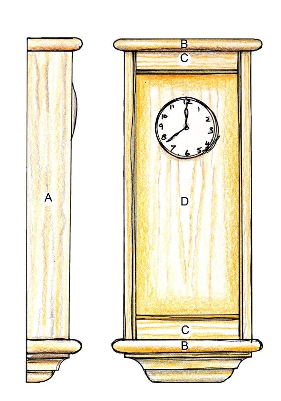 Wallclock Project Info Woodworking Masterclasses