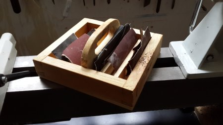 Dovetail Dovetail caddy by Haim Hen