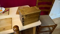 Dovetail stackable jewellery boxes I by Michael Thompson