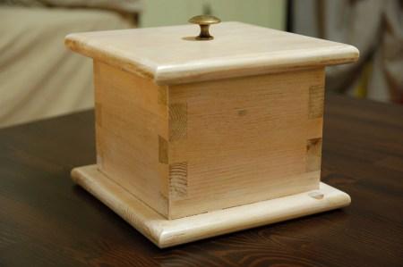Dovetail box by Emilio Remogna