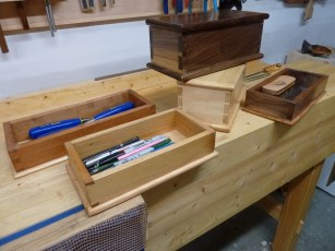 Dovetail Boxes by Dave Robbie