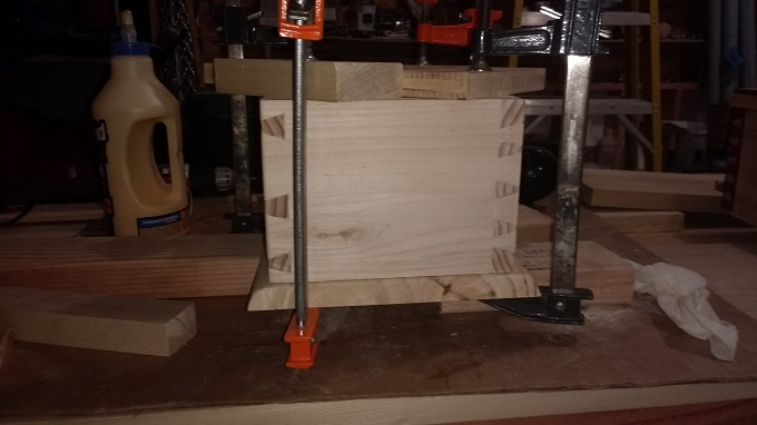 Dovetail Box by Anthony Rich