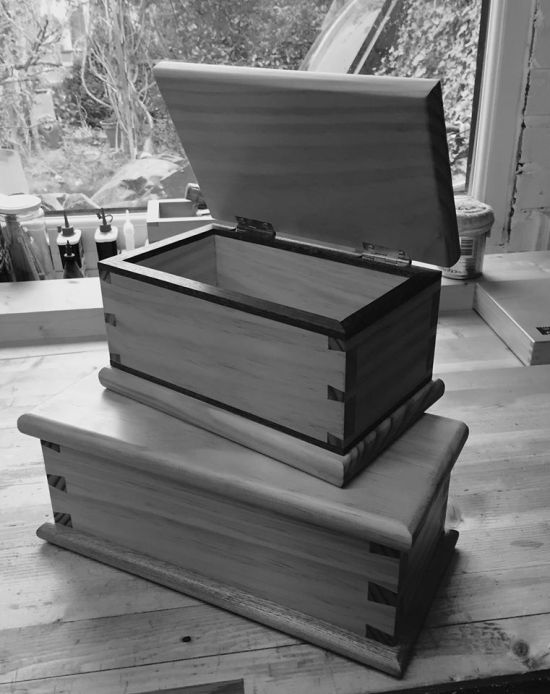 Dovetail boxes by NikonD80