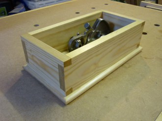 Dovetail Box by Martin King