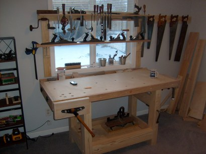 Workbench by Gary Blair