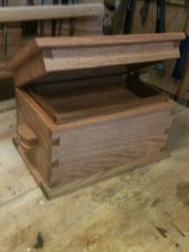 Dovetail Box by Sandy