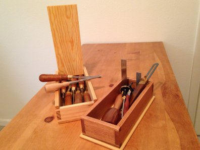 My first two hand tool projects ever.