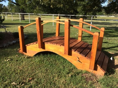 Garden bridge by wdelliott