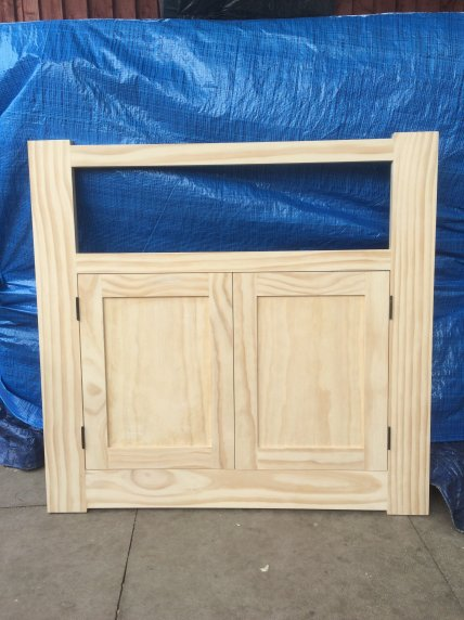 A face frame with doors by Jonesywoo