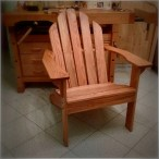 My First Adirondack Chair by Giuliano Guarino