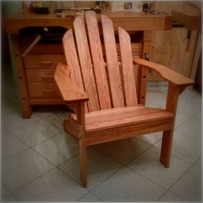 My First Adirondack Chair by Giuliano Guarino