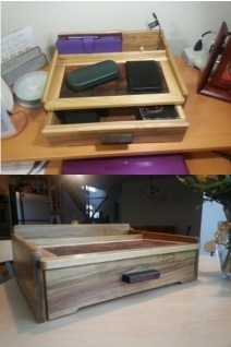 Desk Organizer by Marilyn Moreno