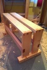 Split-top Saw Bench by Jay