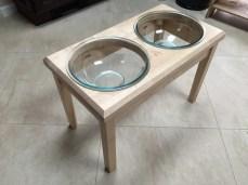 Dog Bowl Holder by lowpolyjoe