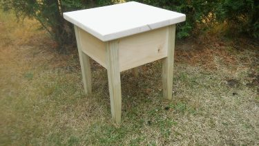 Small Porch Table by Anthony Greitzer