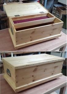 Pine joiners tool box by haim hen