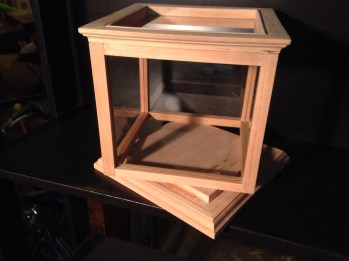 Glass display case by reiff825