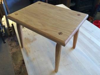 Foot stool by bigbrowndog