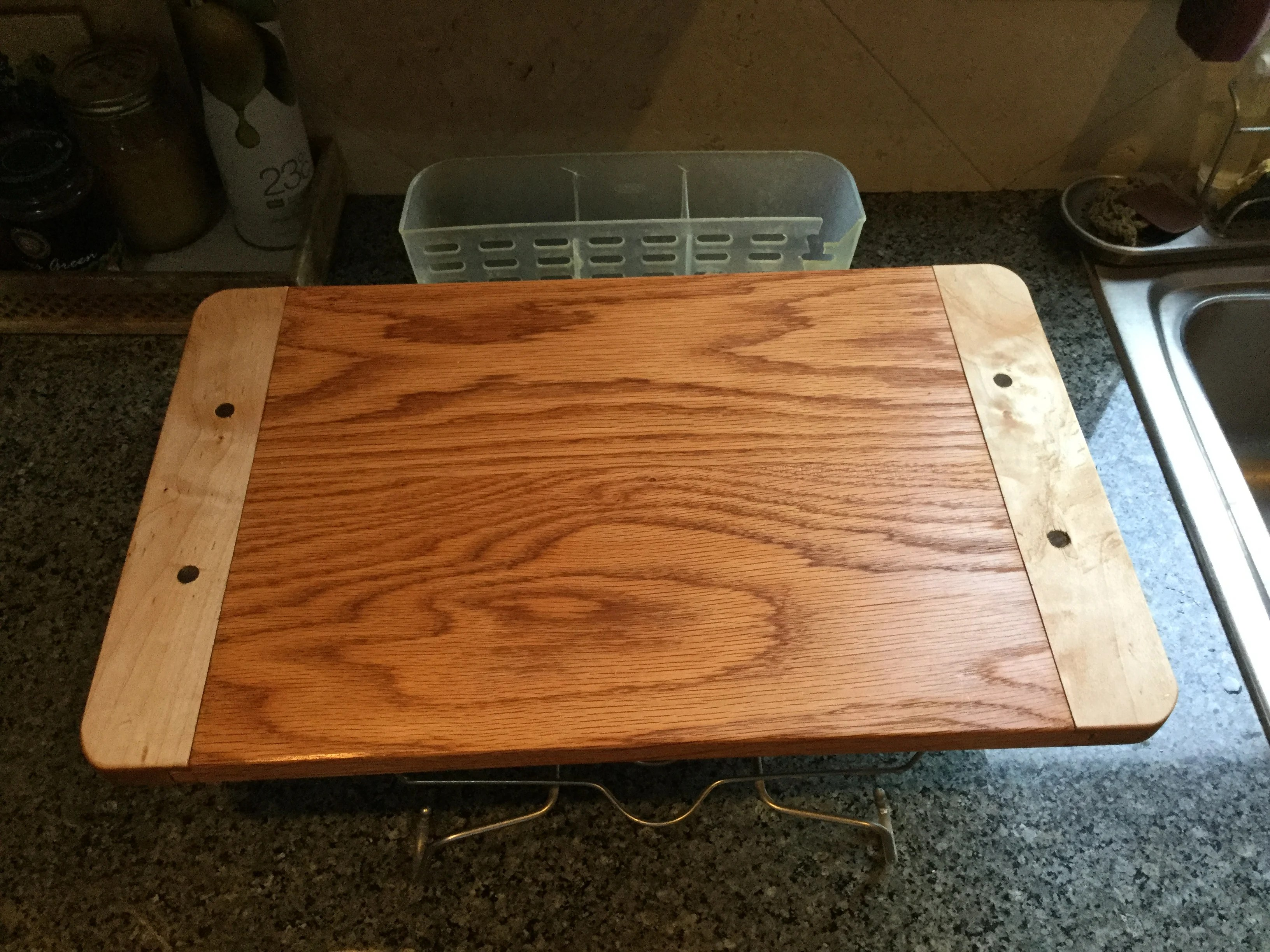 Breadboard-end Cutting Board by Steve Araiza