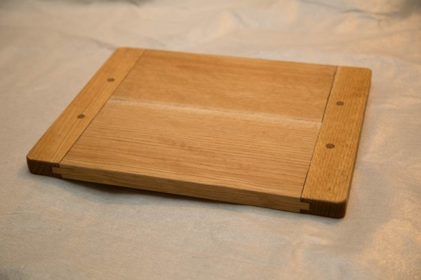 Breadboard-end Cutting Board by Darrin Stewart